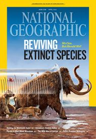 National Geographic's April 2013 issue