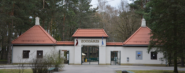 Entrance to the Riga Zoo