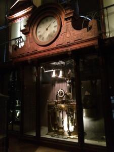 Horloge monumentale de Marie-Antoinette, MNHN, Paris. Photo by D Jørgensen.